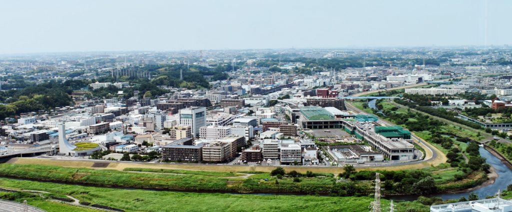 北新横浜と鶴見川