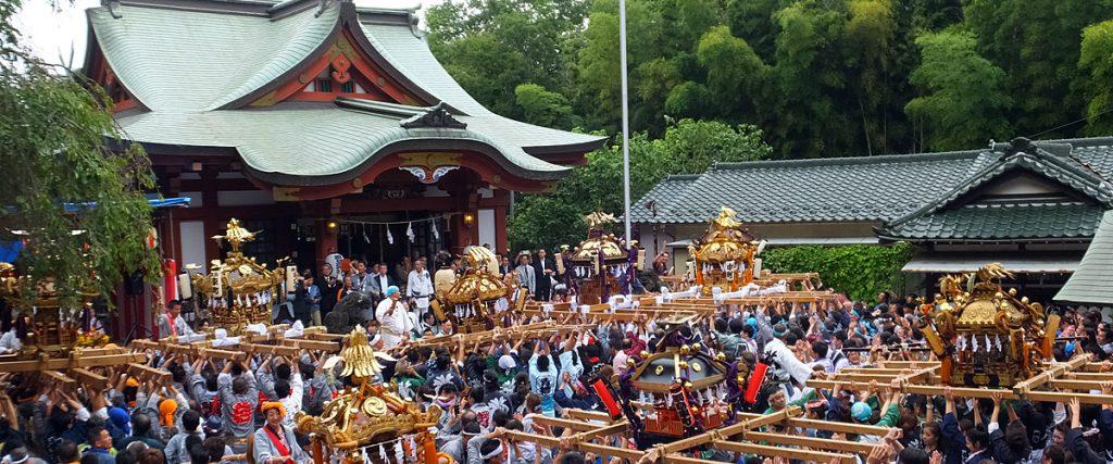 綱島諏訪神社例大祭